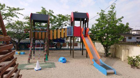 愛知県 某幼稚園での 遊具の撤去を させて貰いました。