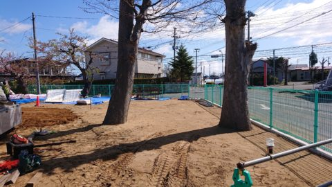 青森県三沢市 某公園 複合遊具新規設置工事